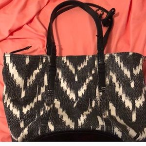 Lucky Brand Tribal Canvas Tote